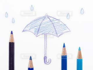 梅雨のイメージ 色鉛筆の写真・画像素材[2991405]