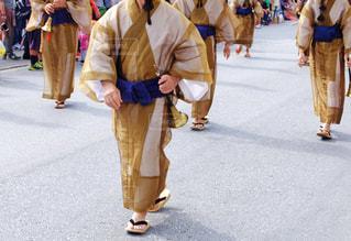 古式行列 沖縄の写真・画像素材[2497131]