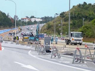 道路工事の写真・画像素材[2654196]