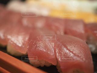 寿司のクローズアップの写真・画像素材[3081675]