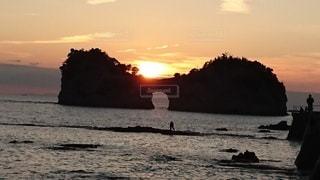 和歌山県円月島の写真・画像素材[2482197]