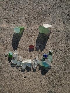 浜辺の人々のグループの写真・画像素材[2436830]