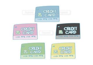 クレジットカードの写真・画像素材[2459464]