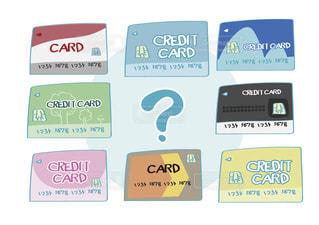 クレジットカードの比較に迷うイメージの写真・画像素材[2463882]