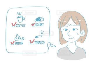 口臭の原因について想像するの写真・画像素材[2507131]