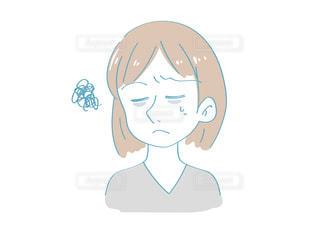 疲れている女性のイメージの写真・画像素材[2509677]