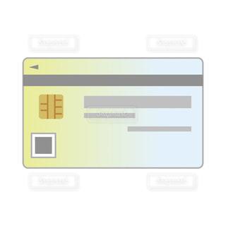 マイナンバーカード 裏 イラストの写真・画像素材[3348214]