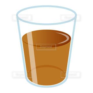 シンプルな麦茶のイラストの写真・画像素材[3607346]