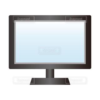 パソコン画面、モニターの写真・画像素材[3765429]