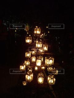 軽井沢高原教会サマーキャンドルナイトの写真・画像素材[2501918]
