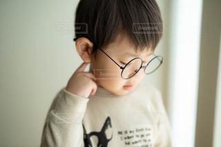 丸眼鏡はじめました。の写真・画像素材[2403273]