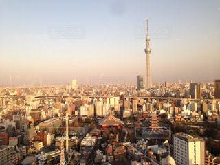 浅草からみる東京スカイツリーの写真・画像素材[2410890]