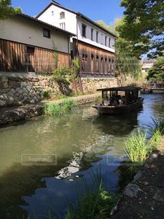 近江八幡舟巡りの写真・画像素材[2407669]
