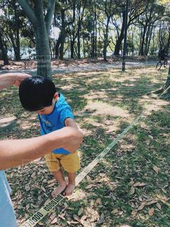 公園で初挑戦の写真・画像素材[1585211]