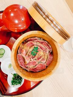 お肉を堪能の写真・画像素材[3812251]