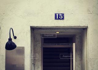 神戸のお洒落なショップの玄関の写真・画像素材[2413063]