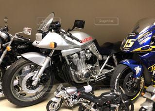 バイクのプラモデルの写真・画像素材[2409746]