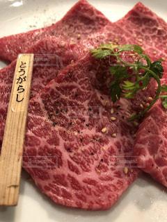 肉のアップの写真・画像素材[2408015]