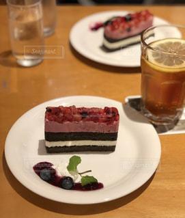 ベリーのケーキの写真・画像素材[2408019]