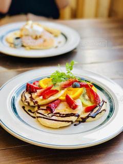フルーツパンケーキの写真・画像素材[2411309]