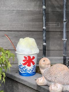 カキ氷の写真・画像素材[2429246]