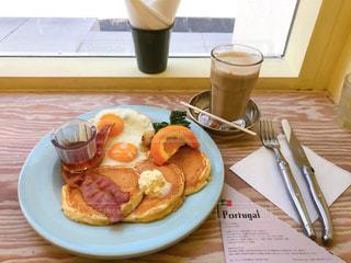 アメリカの朝食の写真・画像素材[2650098]