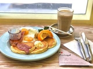 アメリカの朝食の写真・画像素材[2650100]