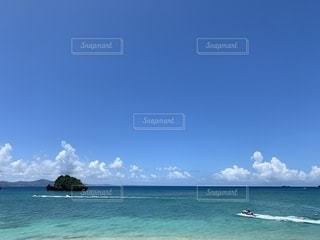 海とジェットスキーの写真・画像素材[2414833]