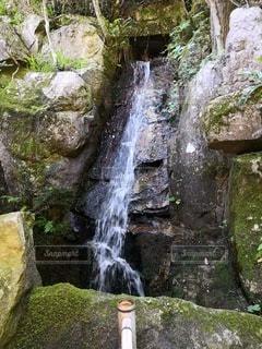 三瀧寺の滝の写真・画像素材[2411080]