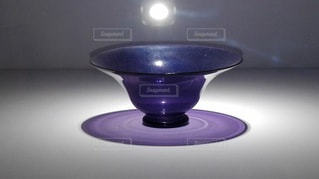 紫のぎやまんの写真・画像素材[2413881]