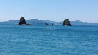 鹿島から見える小さい島々の写真・画像素材[2415142]