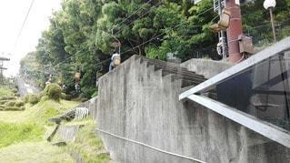 松山城 ロープウェイ入口の写真・画像素材[2417976]