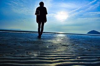 海と青空の写真・画像素材[2423019]