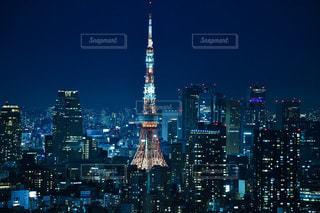 恵比寿ガーデンプレイスからの東京タワーの写真・画像素材[2618787]