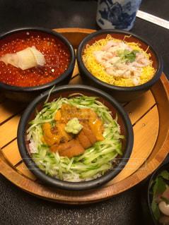 北海道 海鮮丼の写真・画像素材[2416154]