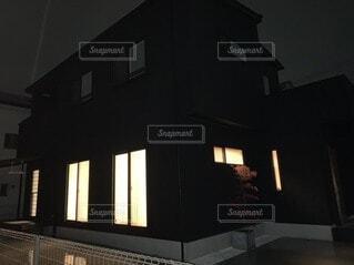 黒い家の写真・画像素材[4206926]