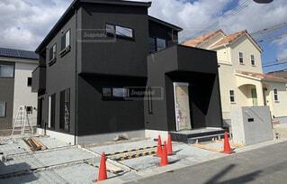 黒い家の写真・画像素材[4206953]