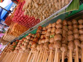 アジアの串料理の写真・画像素材[2415901]