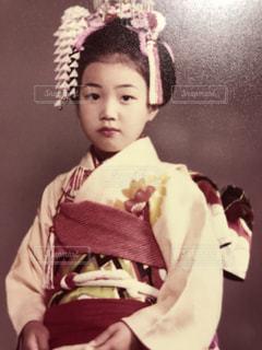 昭和の七五三の写真・画像素材[2422420]
