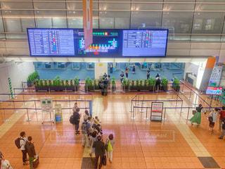空港の出発ロビーの写真・画像素材[2433703]