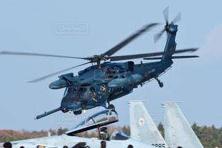 航空自衛隊 救難ヘリコプター UH-60J ブラックホークの写真・画像素材[2436434]