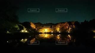 夜空の写真・画像素材[2416411]