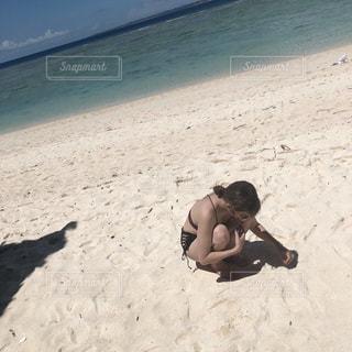 砂浜の写真・画像素材[2417000]