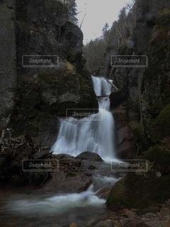 最終地点のカスケードの写真・画像素材[2515022]