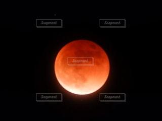 皆既月食の写真撮影です。の写真・画像素材[2638663]