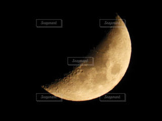 今夜の三日月🌙の写真・画像素材[2691624]