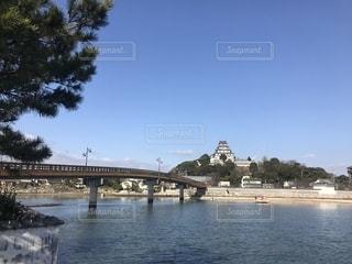 唐津城の写真・画像素材[2424323]