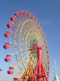 神戸の観覧車の写真・画像素材[2424964]