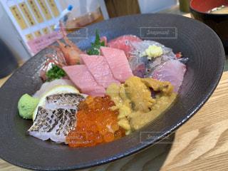 海鮮丼の写真・画像素材[2421665]
