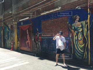 ストリートアートの写真・画像素材[2425813]